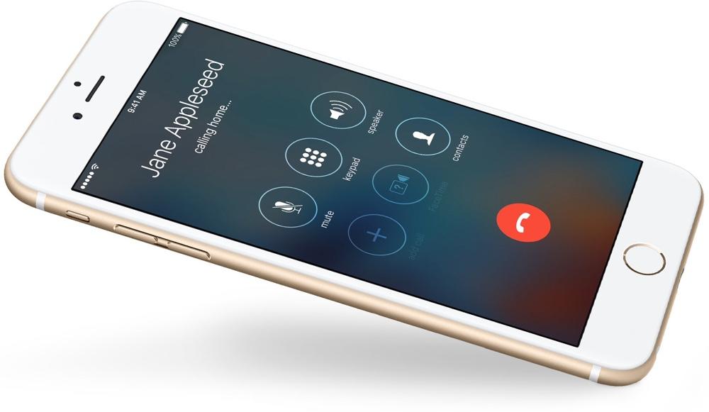 iPhone phone call
