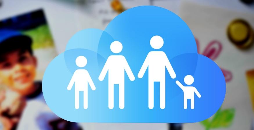 Compartir en familia apple id family sharing