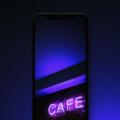 fondos neon para iphone, ipad, android