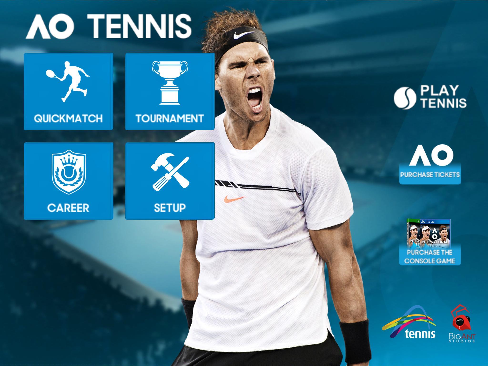 Australian Open Game app store google play