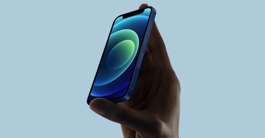 gestionar 5g en iphone 12