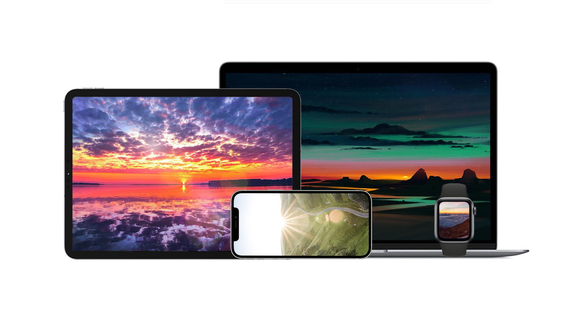 atardecer wallpapers iphone