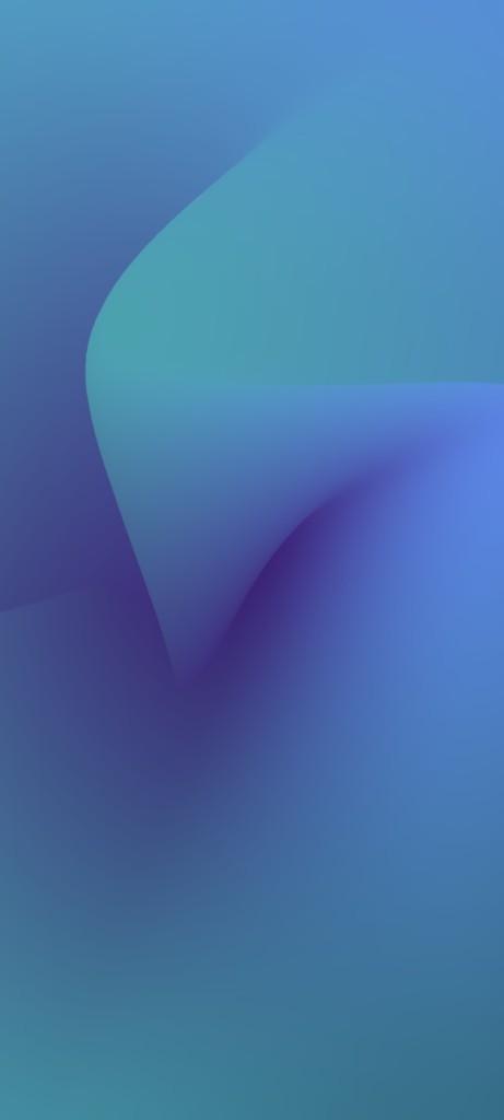 Mesh Gradient Wallpaper for iPhone idownloadblog yudhajit ghosh Blue