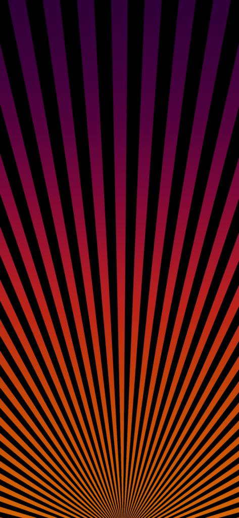 Full screen rays Apple Tower Theatre wallpaper basicappleguy idownloadblog iPhone purple