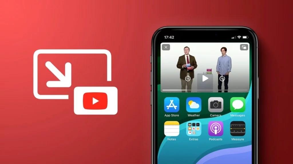 como activar picture in picture youtube en iphone