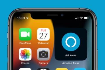 Widget Alexa para iPhone
