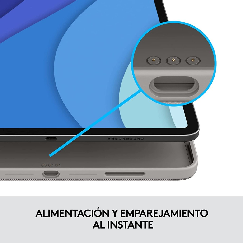 acople funda logitech combo touch ipad pro