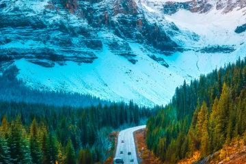 Road iPhone wallpaper