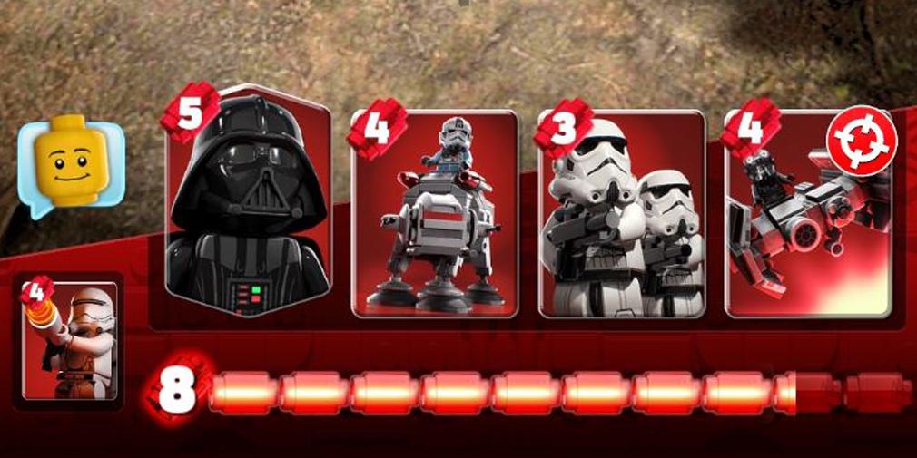 LEGO Star Wars Battles unidades militares cartas Apple Arcade