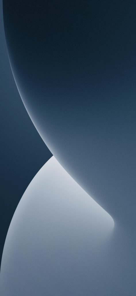 iPhone 13 Pro sierra blue inspired iOS 14 wallpaper AR72014 dark mode