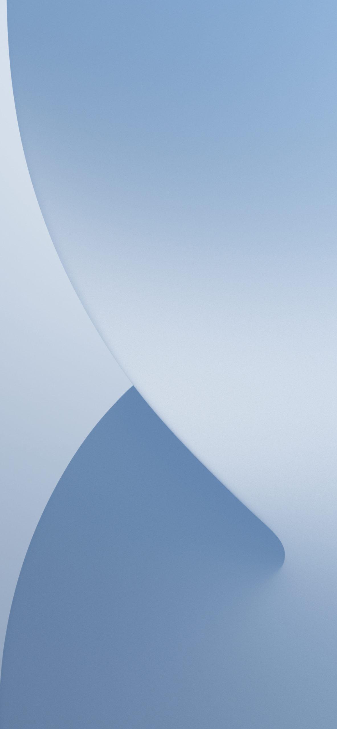 iPhone 13 Pro sierra blue inspired iOS 14 wallpaper AR72014