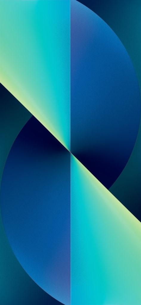 iPhone 13 inspired wallpaper evgeniyzemelko idownlaodblog blue green