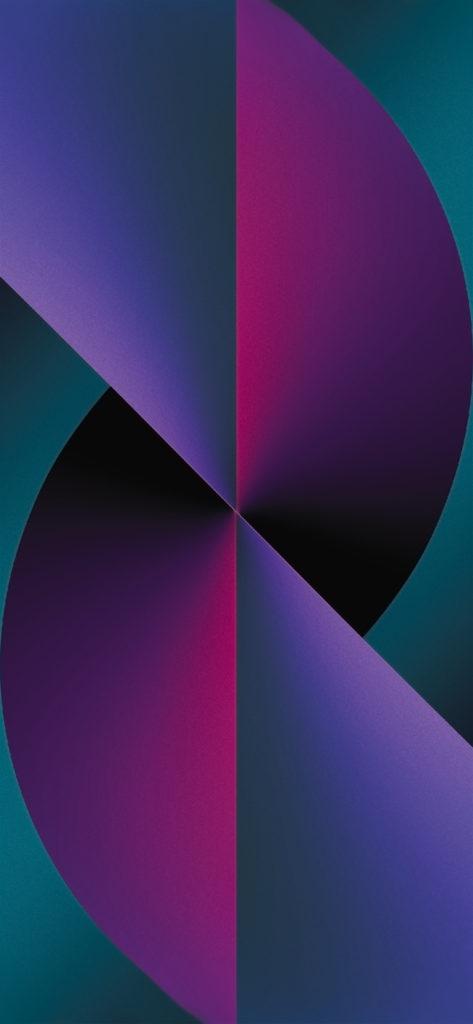 iPhone 13 inspired wallpaper evgeniyzemelko purple pink