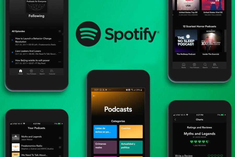 podcasts spotify aumento de usuarios