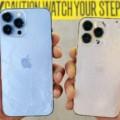 test de resistencia iPhone 13 Pro Max